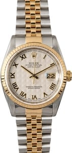 Rolex Datejust 36MM 16233 Pyramid Dial