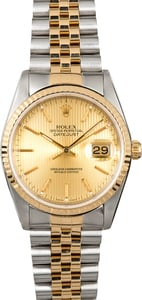 Rolex Datejust 36MM 16233 Tapestry