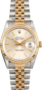 Rolex Datejust 36MM Silver 16233