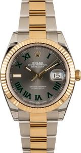 PreOwned Rolex Datejust 126333 Slate Roman Dial