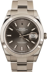Rolex Datejust 126300 Stainless Steel