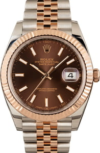 Rolex Datejust 126331 Everose Two-Tone