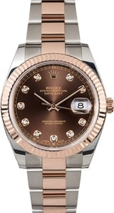 Rolex Datejust 41 126331 Everose Diamond