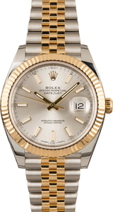 Pre-Owned Rolex Datejust 126333 Silver Luminous Dial