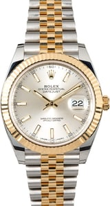 New Rolex Datejust 126333 Silver Dial