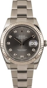 Pre-Owned Rolex Datejust 126334 Diamond Dial
