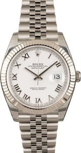 Rolex Datejust 41 126334 White Dial