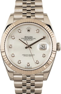 Pre-Owned Rolex Datejust 41 Ref 126334 Diamond Dial