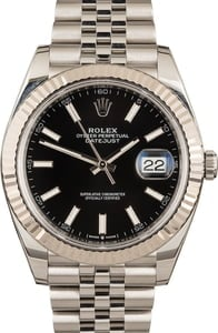 Rolex Datejust Black Dial 126334