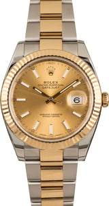 Used Rolex Datejust 126333 Champagne Index Dial