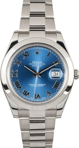 Rolex Datejust 41mm 116300 Blue Dial