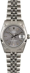 Pre-Owned Rolex Mid-Size Datejust 68240 Steel Jubilee