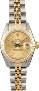 PreOwned Rolex Datejust 69173 Champagne Dial Lady