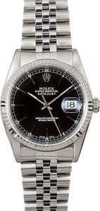 Rolex Datejust Black 16234