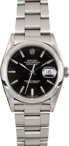 Rolex Datejust Black Ref 16200