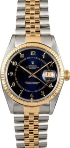 Rolex Datejust Blue Dial 16013