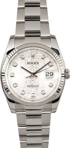 Rolex Datejust Diamond Jubilee Dial 116234