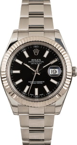 Rolex Datejust 2 Black Dial 126334