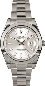 Unused Rolex Datejust II 116300 Stainless Steel Oyster