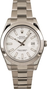 Pre-Owned Rolex 116300 Datejust II Luminous Markers