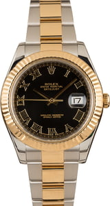Pre-Owned Rolex DateJust II Ref 116333 Roman Dial