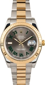 Rolex Datejust II 116333 Two-Tone Slate