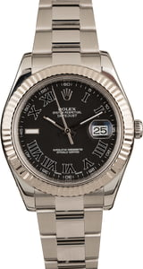 Pre-Owned Rolex Datejust II Ref 116334 Roman Dial