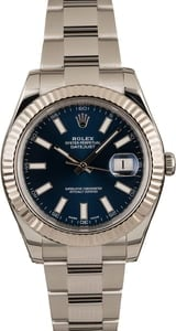 Pre-Owned Rolex Datejust II Ref 116334 Luminous Markers