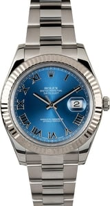 Rolex Datejust II 116334 Blue