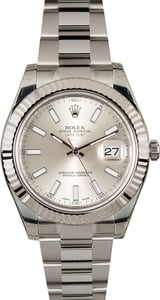 Rolex Datejust II 116334 White 41mm