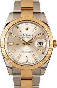 Rolex Datejust 126333 Silver Dial