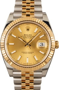 Rolex Datejust 41mm 126333 Jubilee