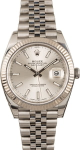 Pre Owned Rolex Datejust II Ref 126334 Silver Dial