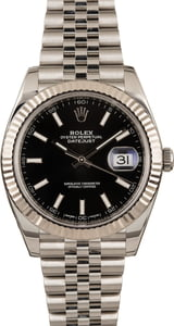 Pre-Owned Rolex Datejust II Ref 126334 Black Dial