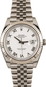 Pre-Owned Rolex 126334 Datejust II White Roman Dial