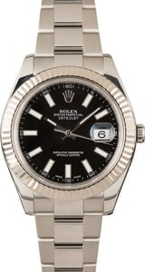 Rolex Datejust II 41MM 116334 Black
