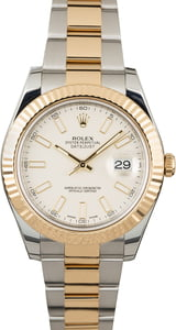 PreOwned Rolex Datejust II Ivory Dial 116333