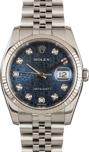 Rolex Datejust Jubilee Diamond 116234