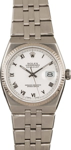 Rolex Datejust OysterQuartz 17014 White Dial