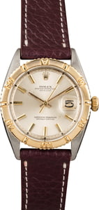 Vintage Rolex Datejust 6609 Turn-O-Graph Two Tone