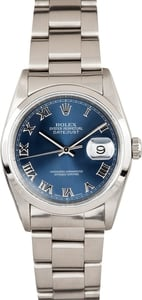 Men's Rolex Datejust Stainless Steel 16200