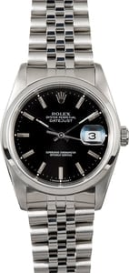 Rolex Datejust Stainless Watch 16200