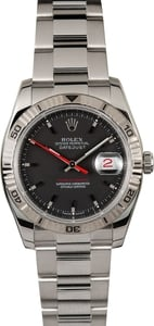 Pre Owned Rolex Datejust Thunderbird 116264 Black Dial