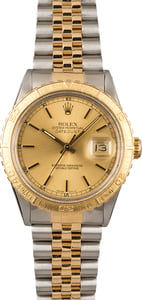 Pre Owned Rolex Thunderbird DateJust 16253 Stainless Steel and Gold
