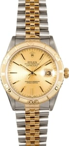 Rolex Datejust Thunderbird 16263 Tapestry Dial