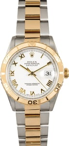 Rolex Datejust Thunderbird 16263 White