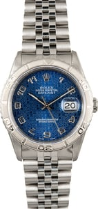 Rolex Datejust Thunderbird 16264 Blue
