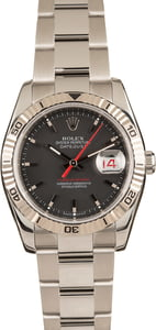 Rolex Datejust 116264 Red Date Wheel