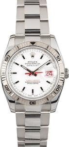 Rolex Datejust Turn-O-Graph 116264 White Thunderbird
