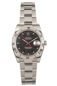"Rolex Datejust ""Turn-o-Graph"" 116264 Black Dial"